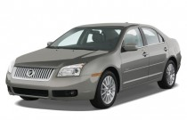 2008 Mercury Milan 4-door Sedan I4 Premier FWD Angular Front Exterior View