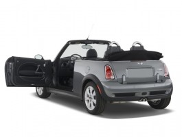 2008 MINI Cooper Convertible 2-door S Open Doors