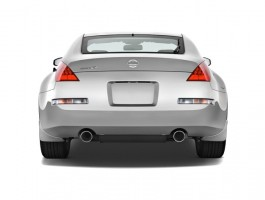 2008 Nissan 350Z 2-door Coupe Man Rear Exterior View