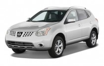 2008 Nissan Rogue FWD 4-door SL Angular Front Exterior View