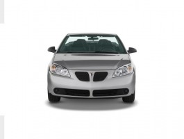 2008 Pontiac G6 2-door Convertible GT Front Exterior View