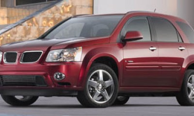 2008 pontiac torrent performance review the car connection. Black Bedroom Furniture Sets. Home Design Ideas