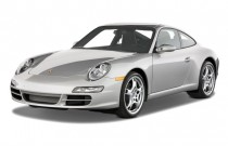 2008 Porsche 911 Carrera 2-door Coupe Angular Front Exterior View