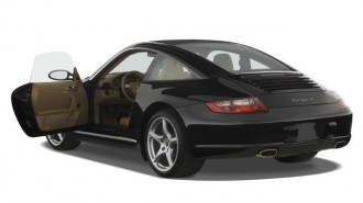 2008 Porsche 911 Carrera 2-door Targa 4 Open Doors