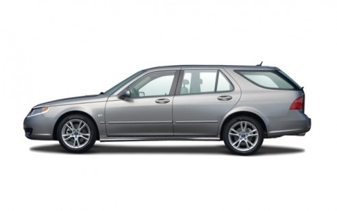 2007 Saab 9-5 4-door Wagon Side Exterior View