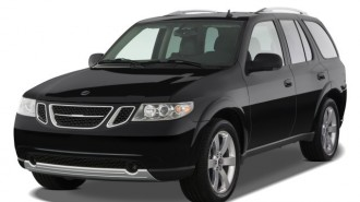 2008 Saab 9-7X AWD 4-door Aero Angular Front Exterior View