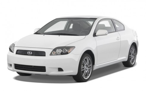 2008 Scion tC 2-door HB Man (Natl) Angular Front Exterior View