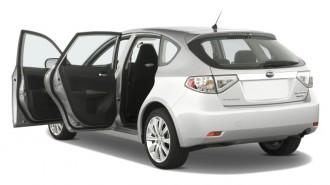 2008 Subaru Impreza 5dr Man WRX Open Doors