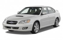 2008 Subaru Legacy Sedan 4-door H4 Auto GT Ltd Angular Front Exterior View