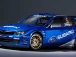 2008 Subaru WRX STI WRC rally car