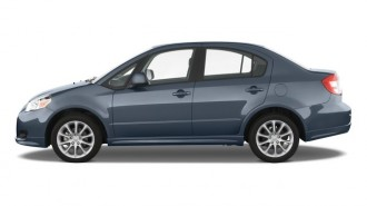 2008 Suzuki SX4 4-door Sedan Man Convenience Pkg Side Exterior View