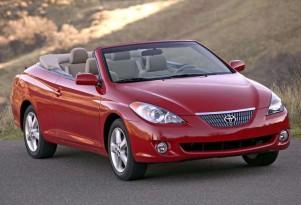 Toyota Won't Restart Production Of Camry Solara Convertible