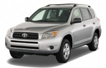 2008 Toyota RAV4 FWD 4-door 4-cyl 4-Spd AT (Natl) Angular Front Exterior View