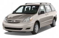 2008 Toyota Sienna 5dr 8-Pass Van LE FWD (Natl) Angular Front Exterior View