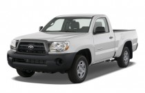 2008 Toyota Tacoma 2WD Reg I4 AT (Natl) Angular Front Exterior View