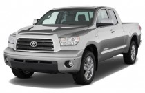 2008 Toyota Tundra Dbl 5.7L V8 6-Spd AT LTD (Natl) Angular Front Exterior View