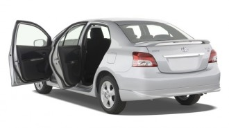 2008 Toyota Yaris 4-door Sedan Auto S (Natl) Open Doors
