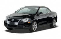 2008 Volkswagen Eos 2-door Convertible DSG Turbo Angular Front Exterior View