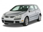 2008 Volkswagen Rabbit 2-door HB Auto S Angular Front Exterior View