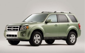 2005-2008 Ford Escape Hybrid, 2006-2008 Mercury Mariner Hybrid Recalled For Stalling