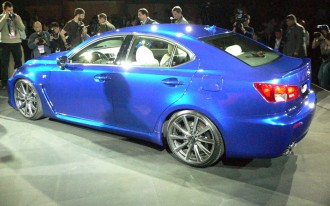 Lexus Shows Racy Side with LF-A, IS-F