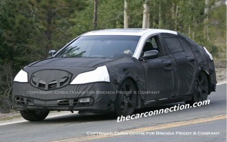 2009 Acura TL: Spied!