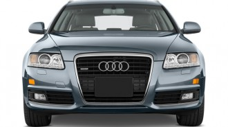 2009 Audi A6 4-door Avant Wagon 3.0L quattro Prestige Front Exterior View