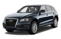 2009 Audi Q5 quattro 4-door 3.2L Premium Plus Angular Front Exterior View
