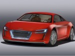 Audi R8 e-tron Spy Video: All-Electric Supercar On The Road!