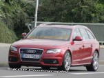 2009 Audi S4 Avant Spy Shots