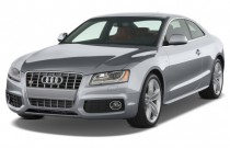 2009 Audi S5 2-door Coupe Auto Angular Front Exterior View