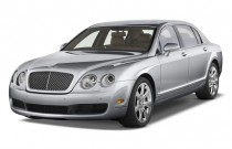 2009 Bentley Continental Flying Spur 4-door Sedan Angular Front Exterior View