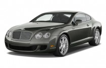 2009 Bentley Continental GT 2-door Coupe Angular Front Exterior View