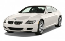 2009 BMW M6 2-door Coupe Angular Front Exterior View