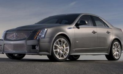 2009 Cadillac CTS-V Photos