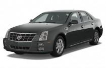 2009 Cadillac STS 4-door Sedan V6 RWD w/1SA Angular Front Exterior View