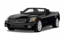 2009 Cadillac XLR-V 2-door Convertible Angular Front Exterior View