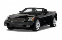 2009 Cadillac XLR-V 2-door Convertible Angular Front Exterior View