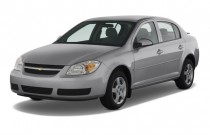 2009 Chevrolet Cobalt 4-door Sedan LT w/1LT Angular Front Exterior View