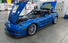 First Restored 'Sinkhole' Corvette Rolled Out At SEMA