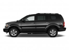 2009 Dodge Durango 4WD 4-door Limited Hybrid Side Exterior View