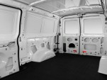 2009 Ford Econoline Cargo Van E-150 Commercial Rear Seats
