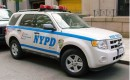 2009 Ford Escape Hybrid used by NYPD traffic unit, by Samuel Smith from NYCPDcars.50webs.com