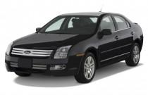 2009 Ford Fusion 4-door Sedan V6 SEL FWD Angular Front Exterior View