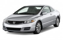 2009 Honda Civic Coupe 2-door Auto EX-L w/Navi Angular Front Exterior View