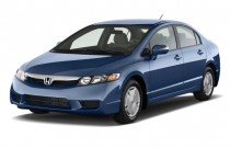 2009 Honda Civic Hybrid 4-door Sedan Angular Front Exterior View
