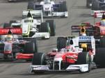 2009 Hungarian GP grid