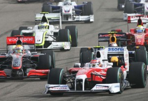 2009 Hungarian GP grid