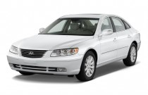 2009 Hyundai Azera 4-door Sedan Limited Angular Front Exterior View