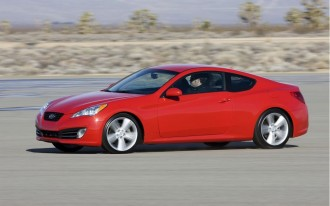"""Hyundai Touts """"World-Class Weight Efficiency"""" In 2010 Genesis Coupe"""